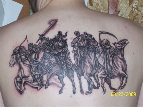 the four horsemen tattoo designs four horsemen apocalypse designs pictures to pin on
