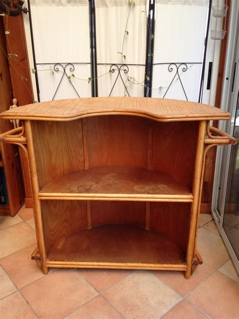Meuble Bar Retro by Meuble Bar Vintage En Rotin Luckyfind