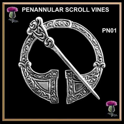 Pin Peniti 48mm Design Bebas Custom Pin celtic penannular brooch cloak pin