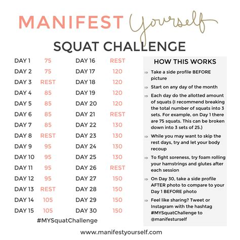 what is the squat challenge squat challenge 2015 new calendar template site
