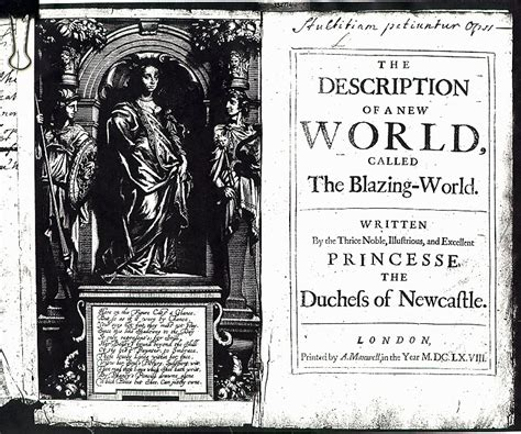 the blazing world books the description of a new world called the blazing world