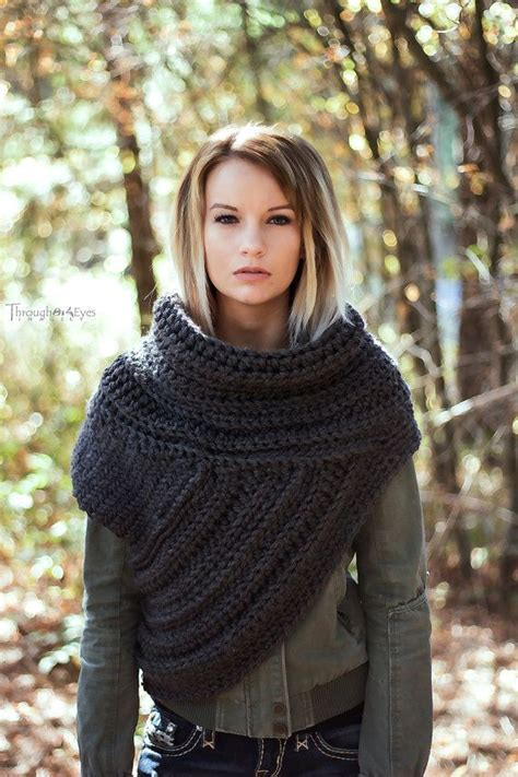 free pattern katniss cowl katniss inspired cowl huntress cowl vest scarf handmade
