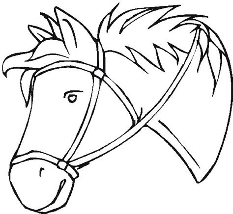 coloring pictures of horses heads free coloring pages coloring pages of horses
