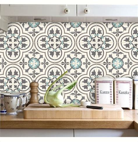 kitchen backsplash stickers 2018 tile decals stickers for kitchen backsplash floor bath removable waterproof m300 k 252 chenschr 228 nke