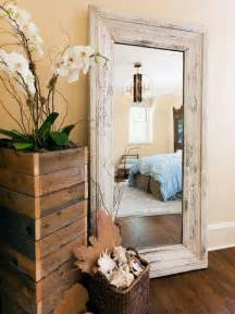 diy rustic mirror and a half bath update apartment