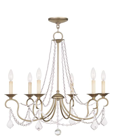 Extension Chain For Chandelier Livex Lighting Pennington Chandelier Hand Painted Antique
