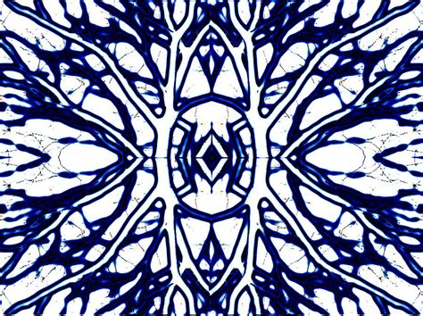 blue and white painting abstract study in blue and white digital art by ann powell