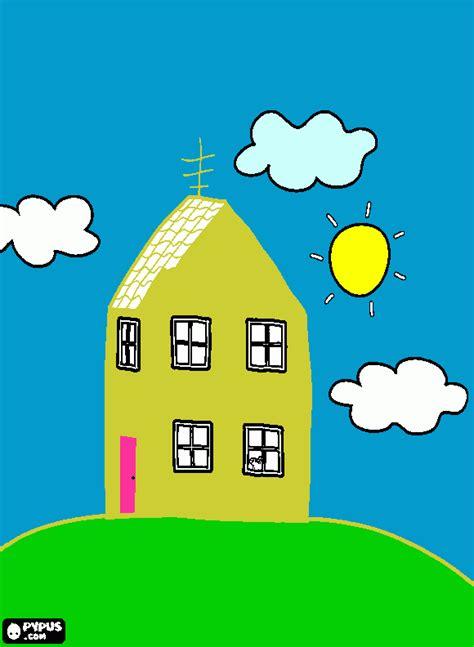 imagenes vulgares de la pepa la casa de pepa para colorear la casa de pepa para imprimir