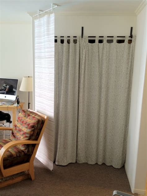shower curtain room divider using shower curtains as room dividers curtain
