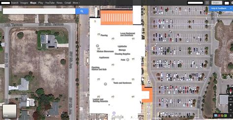 ysk that if you zoom in on a home depot in maps it