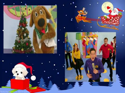 the wiggles christmas images wags is bouncing around the