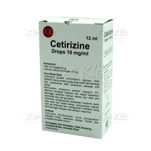 Obat Cetirizine Generik Jual Beli Cetirizine If 10mg Ml Drop 10ml K24klik