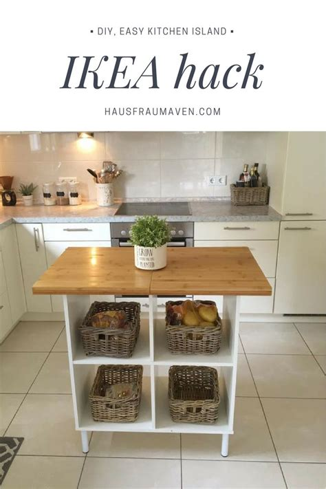 ikea kitchen hacks 25 best ideas about diy kitchen island on