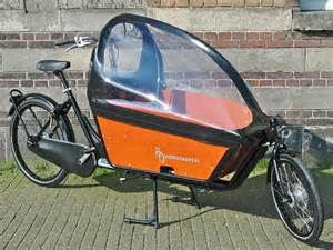 Bicycle Rain Canopy by Workcycles Kr8 Bakfiets Family Bike Flying Dutchman Bikes