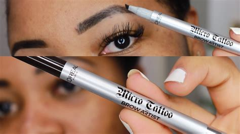 sin alley tattoo l oreal telescopic clean definition mascara makeupalley