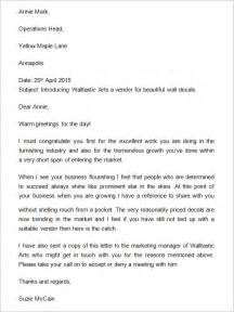 Business Letters Of Introduction Sample Sample Business Introduction Letter 14 Free Documents