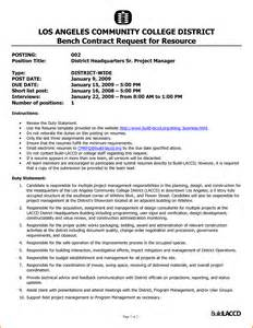 100 project management resume objective account