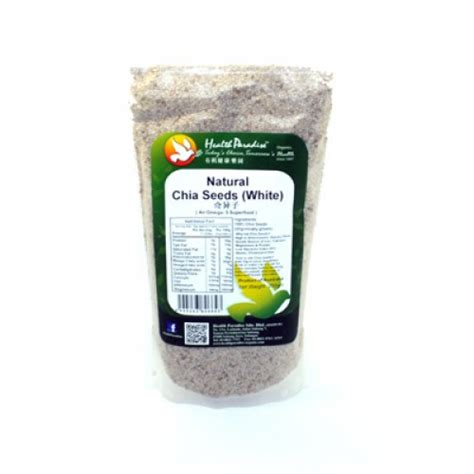 Golden Flaxseed Organic 500 Gr chia seeds white 250 gr jual makanan diet