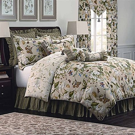 bed bath and beyond williamsburg williamsburg garden images comforter set in parchment