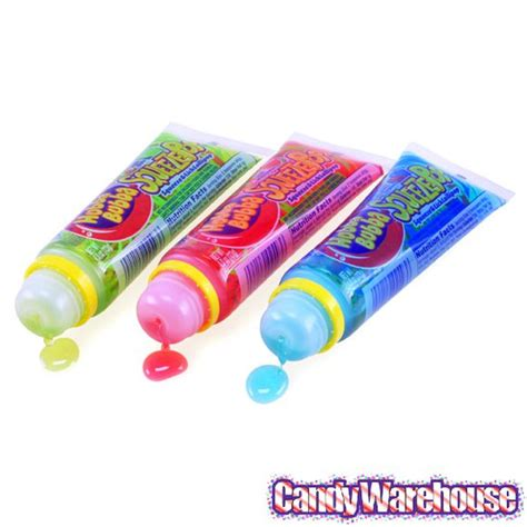 hubba bubba squeeze pop liquid sour flavors 18 box candywarehouse