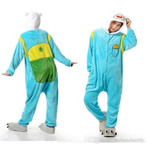 Finn Adventure Time Onesie adventure time finn animal onesies pajamas for s one onesies pajamas