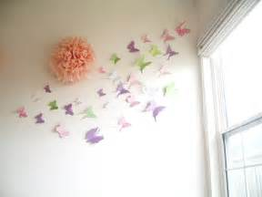 Butterfly Wall Decor For Nursery 30 Butterflies 3d Butterfly Wall 3d By Simplychiclily On Etsy