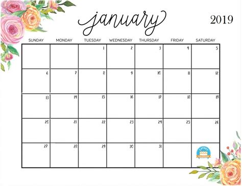 2018 printable calendar with south africa holidays free