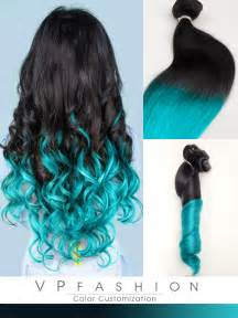 ombre colored hair extensions top 5 black brown hair extensions with blue tips on