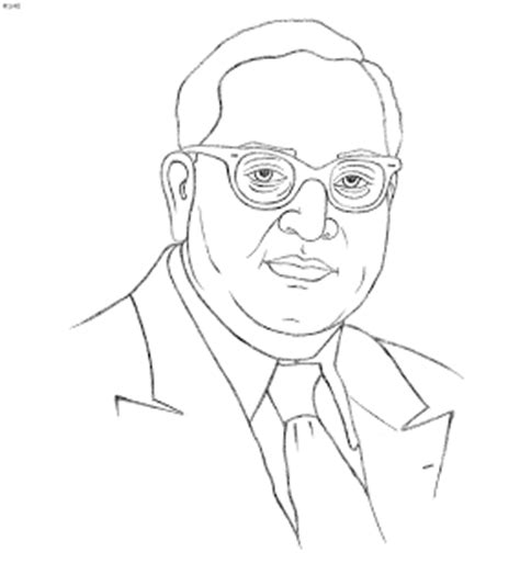 R Sketches by Ambedkar Painting Photos