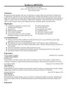 C Caretaker Cover Letter by Animal Caretaker Cover Letter Sle Newhairstylesformen2014