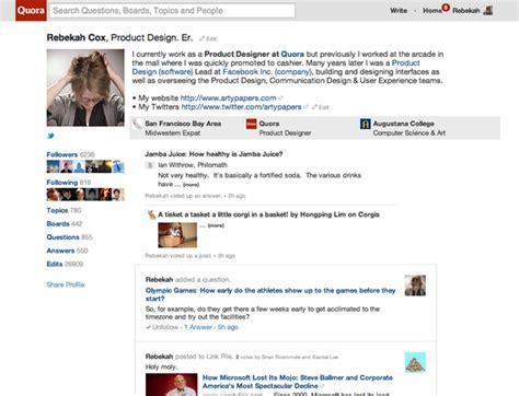 blogger quora your new profile the quora blog quora