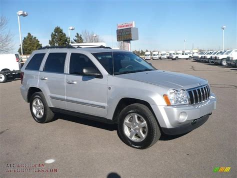 silver jeep grand cherokee 2005 jeep grand cherokee limited 4x4 in bright silver