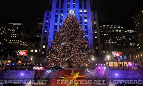 world famous rockefeller christmas tree in nyc turns out
