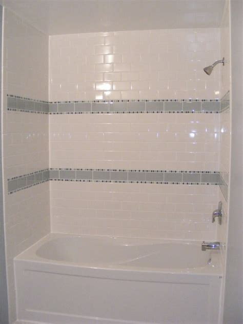 tiling a bathtub wall bathroom amusing bath tile ideas beautiful gloss white