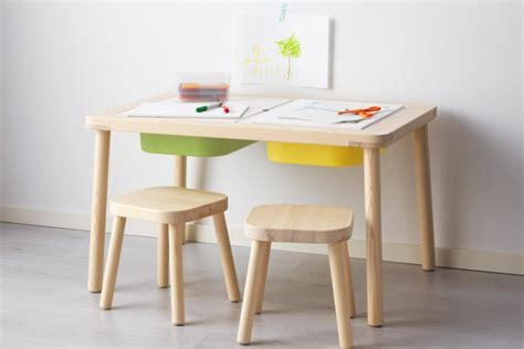 ikea flisat table ikea s new flisat series of furniture and smart storage