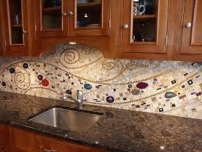 Mosaic Glass Backsplash Kitchen by 16 Wonderful Mosaic Kitchen Backsplashes