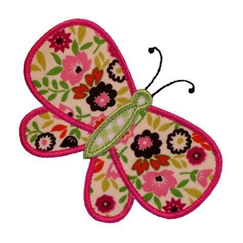 Embroidery Applique Design by Big Dreams Embroidery Blissful Butterfly Machine