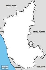 Karnataka Outline Map by Karnataka Free Maps Free Blank Maps Free Outline Maps Free Base Maps