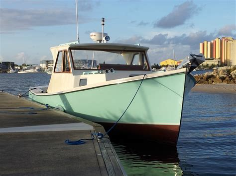 lobster boat seafood on the water baum down east lobster boat 1960 for sale for 100 boats