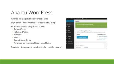 membuat blog org memulai membuat blog dengan wordpress