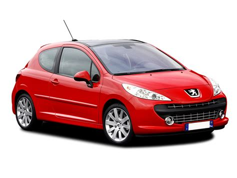 peugeot 207 red peugeot 207 review and photos