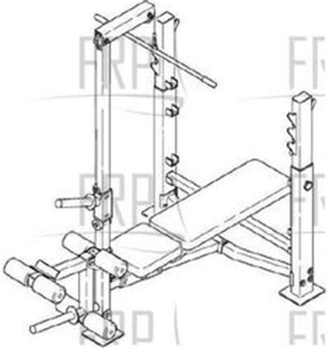 weight bench replacement parts proform 630 pfbe63080 fitness and exercise equipment