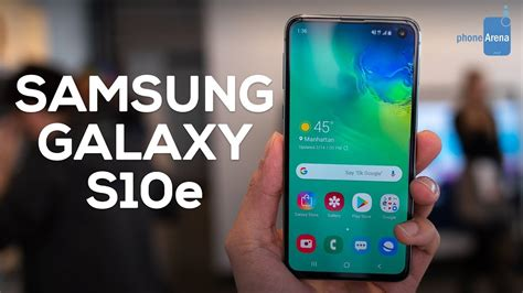 samsung galaxy se hands  big features small package youtube