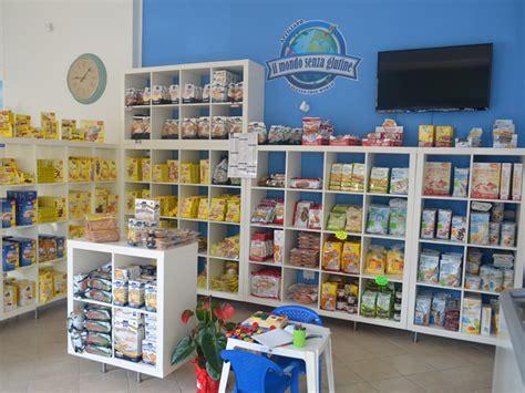 negozio alimenti senza glutine intolleranze alimentari