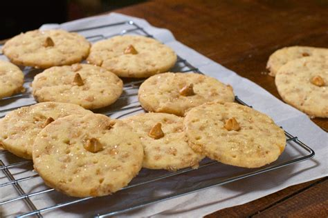 Temptation Butterscotch toffee butterscotch shortbread cookies what the forks