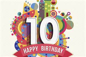 birthday card 10 year boy happy 10th birthday aws network world