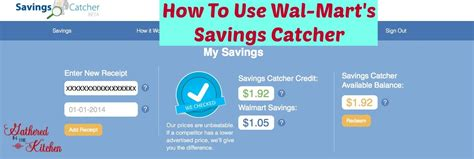 Savings Catcher Gift Card - wal mart savings catcher gathered in the kitchen