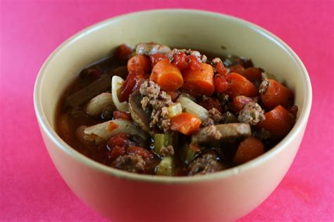 italian minestrone soup in the slow cooker a year of slow cooking