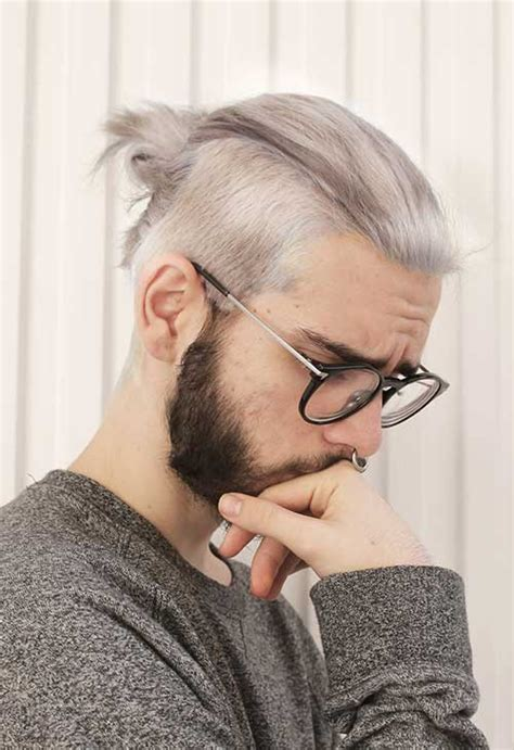 mens poney tail styles 15 mens ponytail hairstyles mens hairstyles 2018