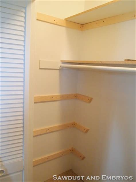 Built In Wooden Shelves Closet How To Build Wood Shelves In A Closet Pdf Woodworking